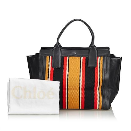 chloe-canvas-alison-tote-bag