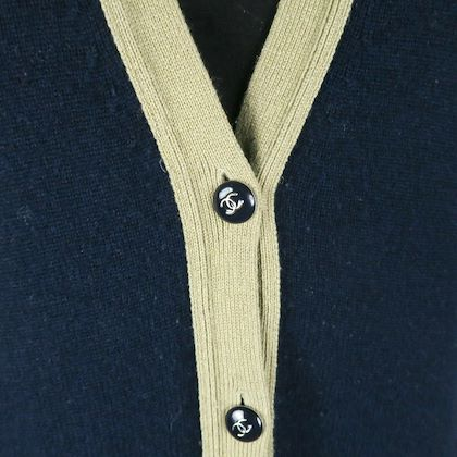 chanel-cashmere-cardigan-navy-gold-sweater-cc-coat-jacket-us-8-40-pre-owned-used