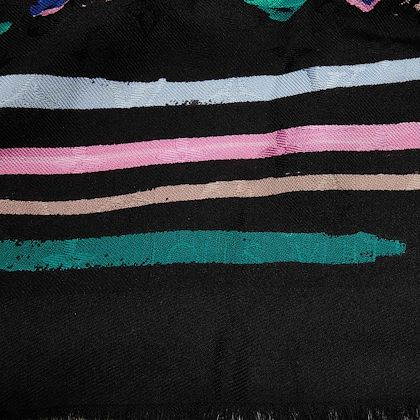 black-abstract-print-louis-vuitton-splash-scarf