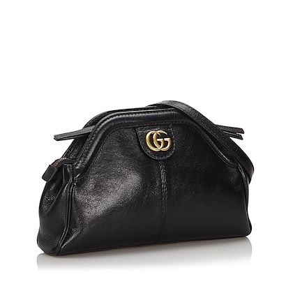 black-gucci-leather-rebelle-crossbody-bag