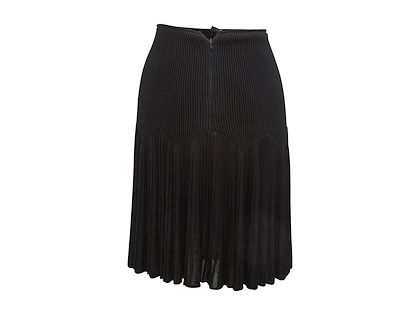 black-alaia-ribbed-knit-skirt