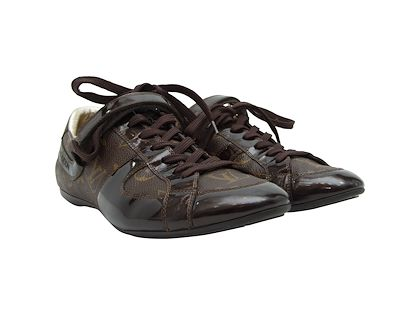 brown-louis-vuitton-monogram-sneakers