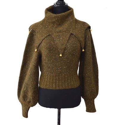 chanel-long-sleeve-knit-tops-brown-36