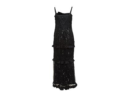 black-valentino-embellished-silk-evening-gown