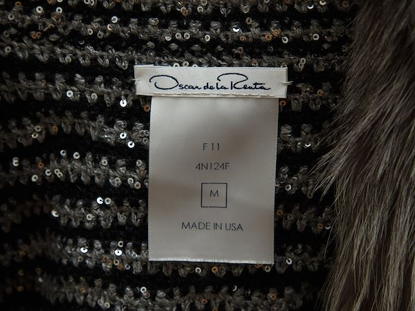 silver-black-oscar-de-la-renta-fur-trimmed-sweater