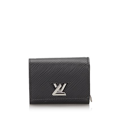 black-louis-vuitton-epi-twist-compact-wallet