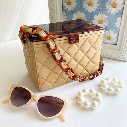 chanel-tortoiseshell-mini-cc-mark-box-handbag-beigebrown