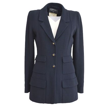 chanel-single-breasted-long-sleeve-jacket-navy