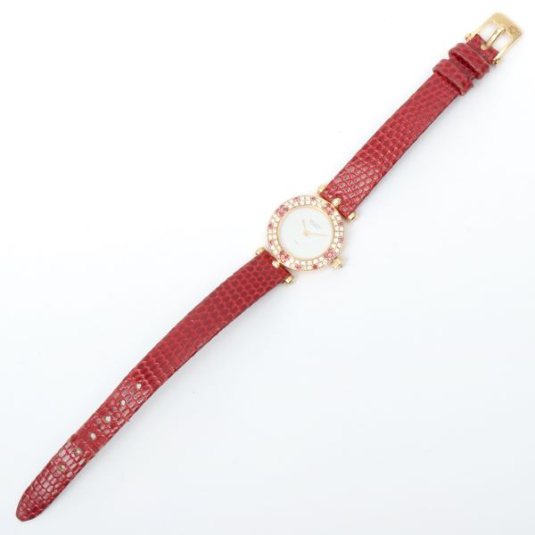 van-cleef-arpels-18k-ruby-diamond-round-face-watch-bordeaux