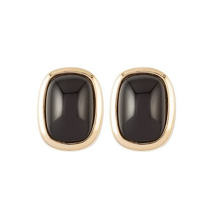 1980s-vintage-christian-dior-jet-enamel-clip-on-earrings