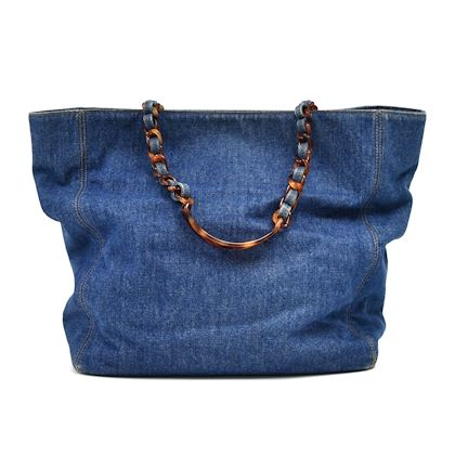 vintage-chanel-denim-tortoise-shell-style-strap-tote-bag-2