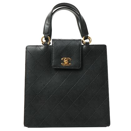 chanel-caviar-skin-turn-lock-handbag-black-6