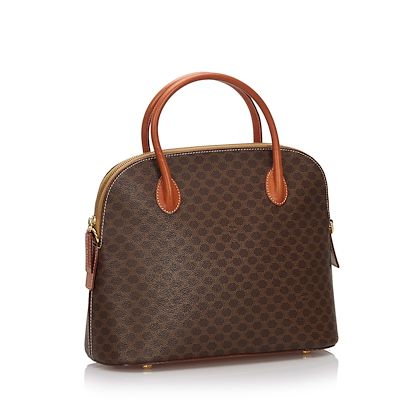 brown-celine-macadam-satchel
