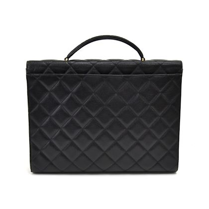 vintage-chanel-black-caviar-quilted-leather-briefcase-3