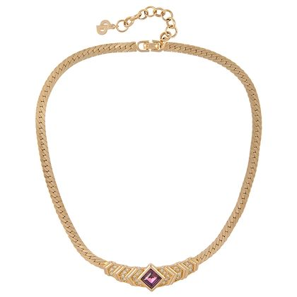 1980s-vintage-christian-dior-faux-amethyst-necklace-2