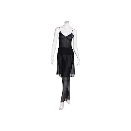 black-vintage-ss-1993-karl-lagerfeld-chiffon-top-and-pant-skirt-set