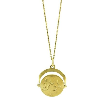 vintage-1970s-9ct-gold-vermeil-i-love-you-spinning-charm-necklace