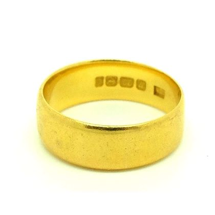 antique-victorian-1900-22ct-gold-wedding-band-ring