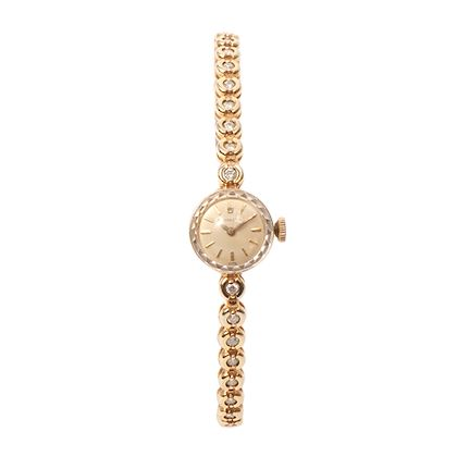 rolex-14k-diamond-round-face-watch