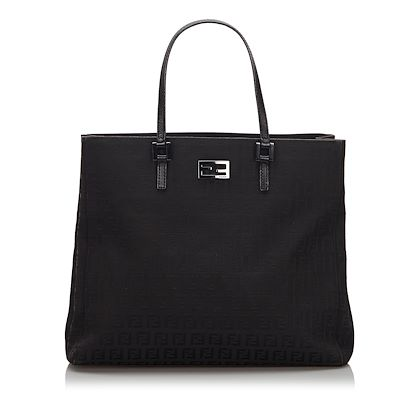 black-fendi-zucchino-canvas-tote-bag