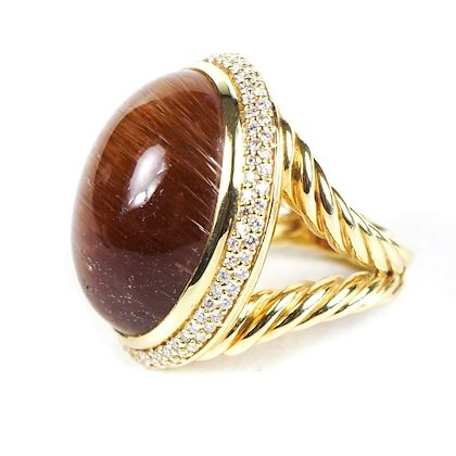 new-david-yurman-diamond-ring-rutilated-quartz-18k-yellow-gold-us-55