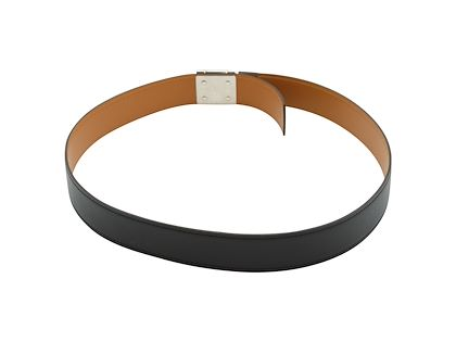black-hermes-leather-belt