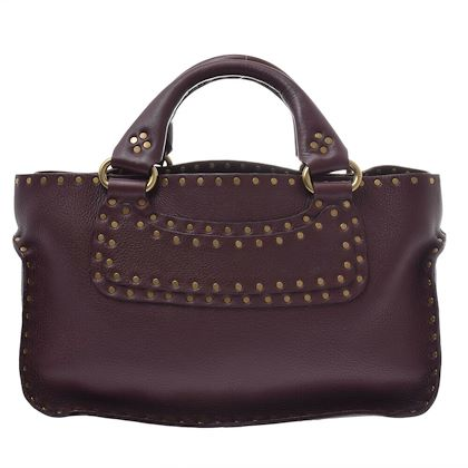 céline-boogie-bag-wine-red-handbag