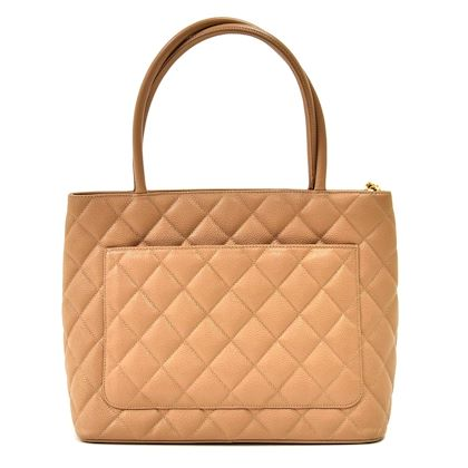 chanel-revival-medallion-beige-quilted-caviar-leather-tote-handbag