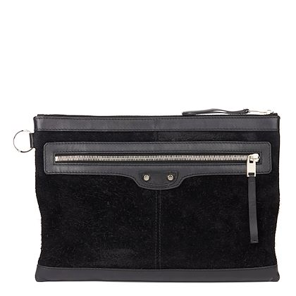 black-calfskin-leather-suede-city-pouch
