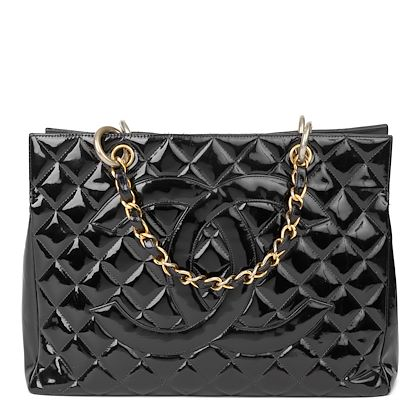 black-quilted-patent-leather-grand-shopping-tote