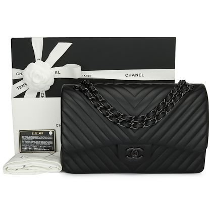 chanel-so-black-chevron-double-flap-jumbo-black-lambskin-black-hardware-2015