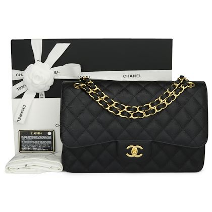 chanel-double-flap-jumbo-black-caviar-gold-hardware-2016-2