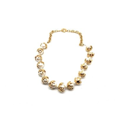 kenzo-vintage-faux-pearl-necklace
