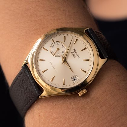 1980s-zenith-elite-automatic-18-karat-yellow-gold-wristwatch