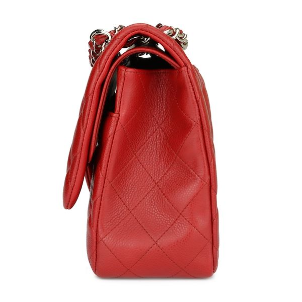 chanel-double-flap-jumbo-red-caviar-silver-hardware-2010-3