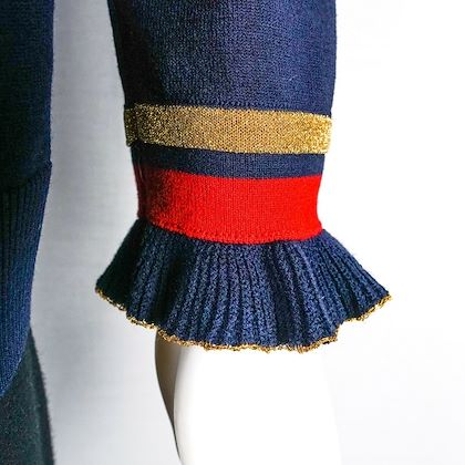 gucci-pearl-sweater-blue-red-cashmere-pullover-epaulet-shoulders-l-large