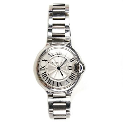 cartier-bleu-ballon-watch-33mm-mid-size-silver-steel-band-round-face