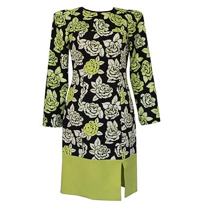 emanuel-ungaro-floral-dress