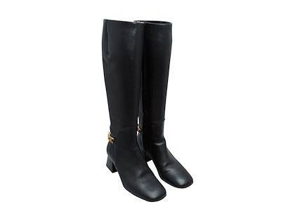 black-burberry-leather-knee-high-boots