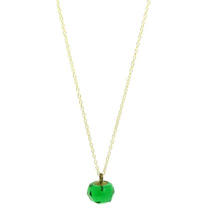 vintage-1940s-green-glass-drop-necklace