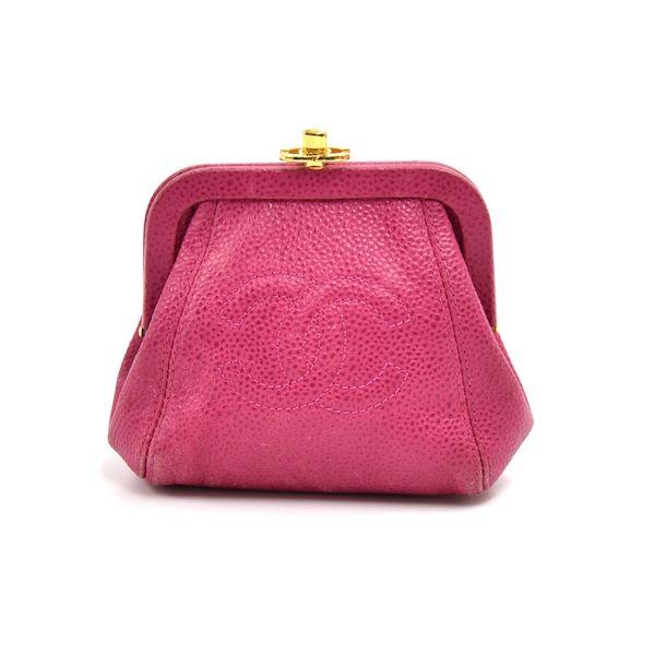vintage-chanel-fuchsia-pink-caviar-leather-top-frame-kiss-lock-coin-case-purse
