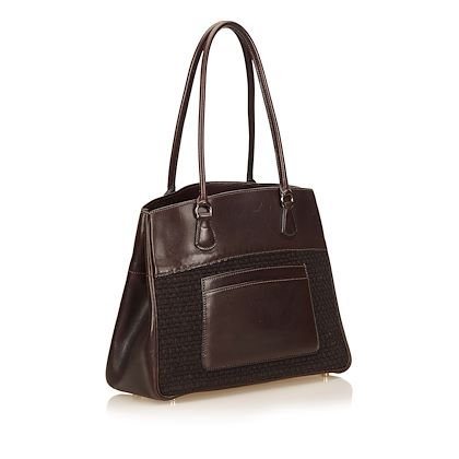 hermes-leather-trim-tote-bag