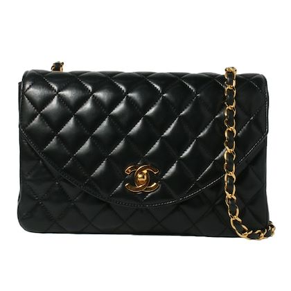 chanel-pour-mademoiselle-chanel-around-1990-made-round-flap-turn-lock-chain-bag-black