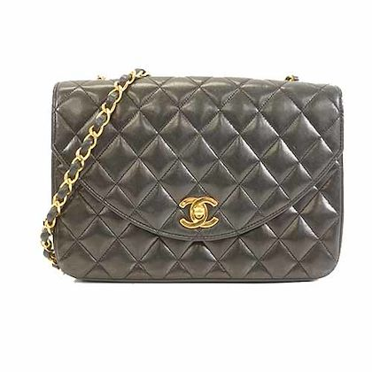 auth-chanel-matelasse-single-chain-womens-leather-shoulder-bag-2